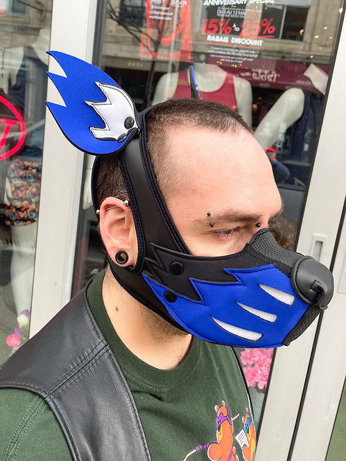 K-WOLF MASK WITH EARS