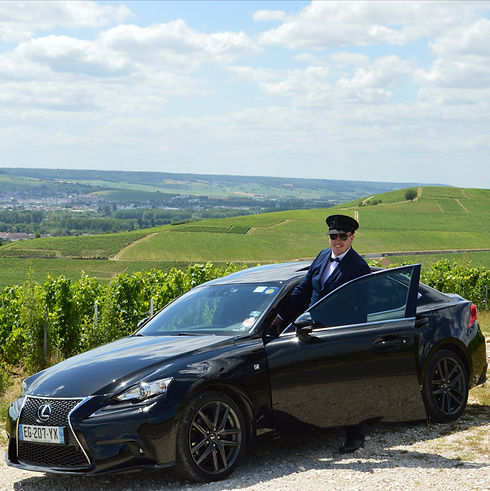 Taxi Epernay, chauffeur champagne, champagne tour