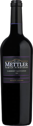 METTLER Family Cabernet Sauvignon- 48.28$ (Btle cs12 btl