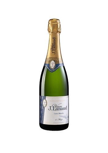 CHAMPAGNE J. LANAUD- CUVÉE CARTE BLANCHE-59.35$- la bouteille (cs-6