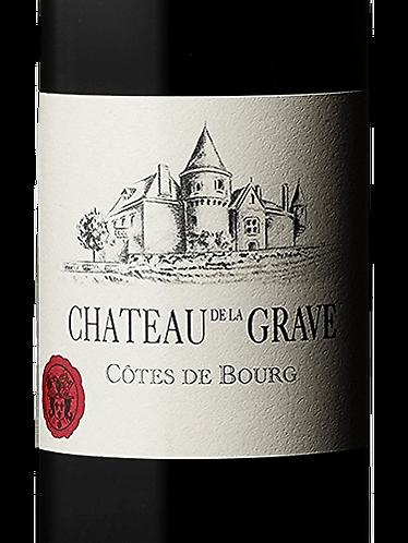 CH. DE LA GRAVE CLASSIQUE- CÔTES DE BOURG - 24.85$ la btle (cs-6)