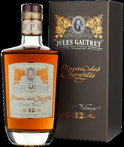 JULES GAUTRET – EXTRA VIEUX 12 ANS PINEAU DES CHARENTES - 54.75$
