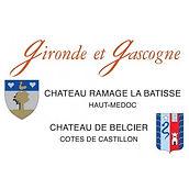 vins chateau de France Gironde et Gascogne