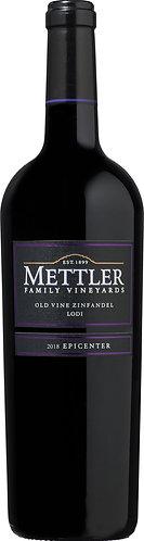 METTLER Family OLD VINE ZINFANDEL- 40.90$ (Btle cs12 btl