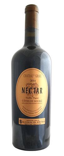 """CH. DE LA GRAVE """"NECTAR- CÔTES DE BOURG - 36.28$ la btle (cs-6)"""