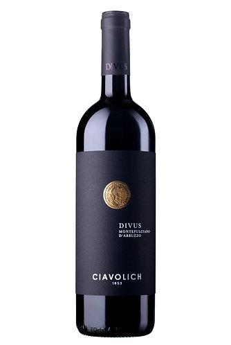 CIAVOLICH DIVUS-MONTEPULCIANO D'ABRUZZO DOP-29.95$- la btle (cs-6)