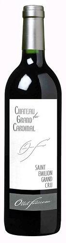CHÂTEAU DU GRAND CARDINAL– ST-ÉMILION– 43.05$ LA BOUTEILLE (CAISSE DE 6)