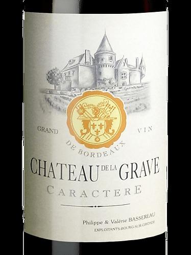 CH. DE LA GRAVE CARACTÈRE- CÔTES DE BOURG - 22.70$ LA BOUTEILLE (caisse/12)
