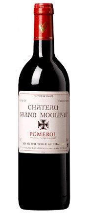 CHÂTEAU GRAND MOULINET – POMEROL– 52.58$ la btle(cs /6)