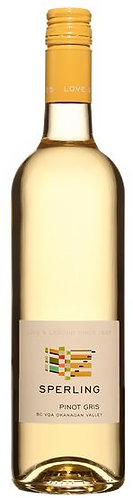 SPERLING Pinot Gris- 26.07$ (cs-12 btl