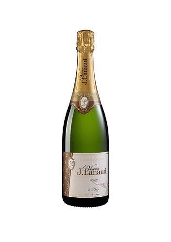 CHAMPAGNE J. LANAUD- CUVÉE RÉSERVE-61.50$- la bouteille (cs-6