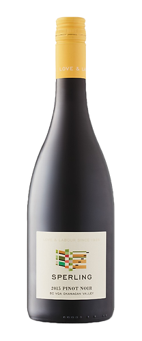 SPERLING PINOT NOIR- 33.89$ (cs-12 btl