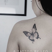 Butterfly tattoo for @jenaymarie_  #dall