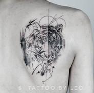 Tiger tattoo by Leo.jpe
