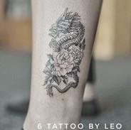 Dragon tattoo by Leo , 来自Gloria姐姐的图@glor