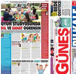 Oyun ve Çocuk, Güneş Gazetesi