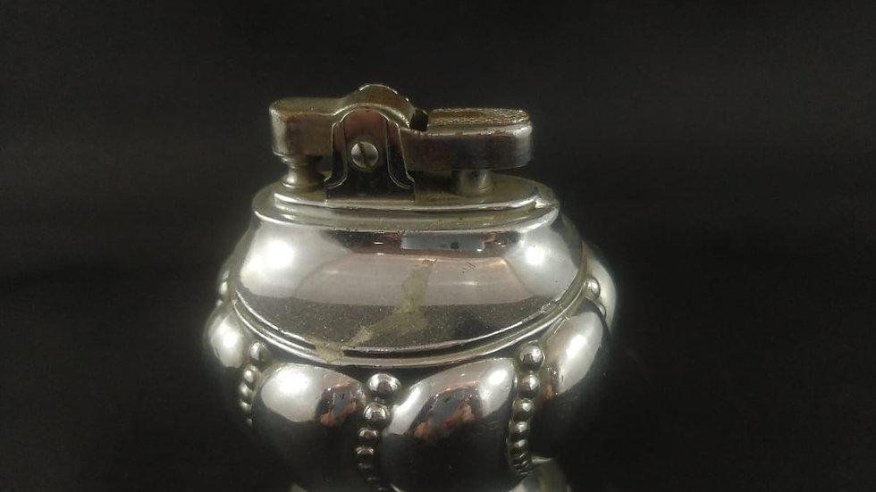 Gümüş Benzinli Masa Çakmağı
