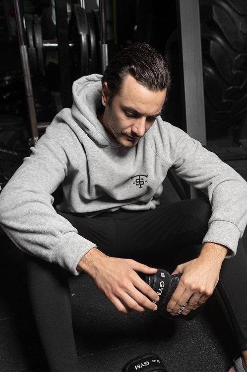 Usa Fleece Sweatshirt Grey