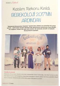 Bebekoloji 2017, Bebek Dergisi