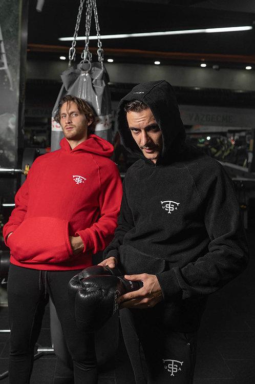 Usa Fleece Sweatshirt Black
