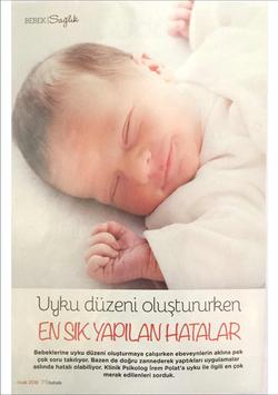 Uyku Düzeni, Bebek Dergisi