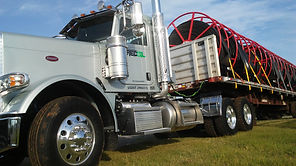 recoilfield semi truck recoil oilfield services oklahoma