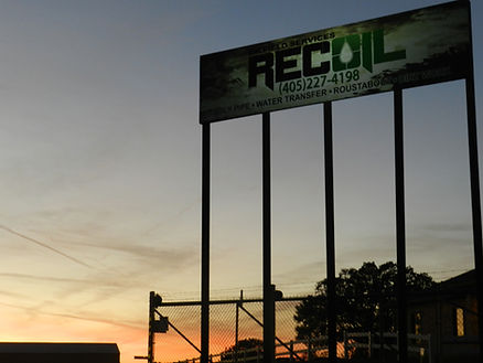 recoil oilfield services oklahoma