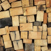 retazos madera