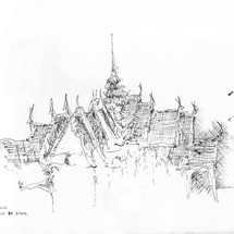 Palacio de Siam, Bangkok by Fernando Guarello
