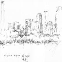 singapur skyline by Fernando Guarellouarello