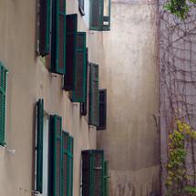 persianas en verde