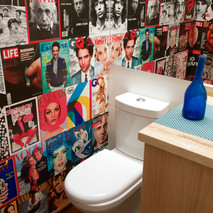 foto collàge baño visitas / Chicureo