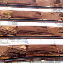 reflejos en cobre