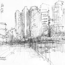 downtown, Singapur by Fernando Guarello