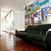 mural para sala de estar