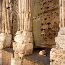 columnas panteón