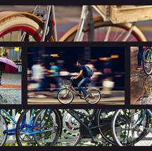 collàge bicicleta