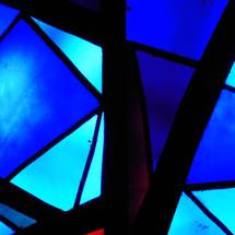 vitreaux azul