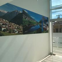 foto collàge acceso oficina / La Serena