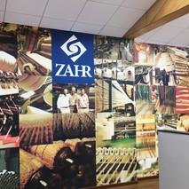 foto collàge Textiles Zahr / Quilpué