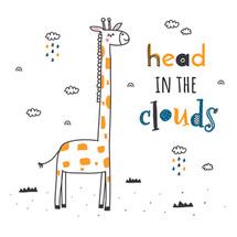 jirafa clouds