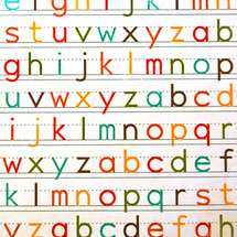 color y letras