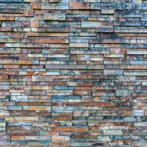 muro de piedras color