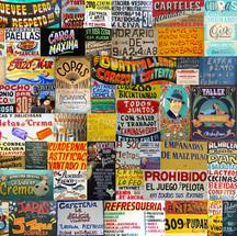collàge carteles