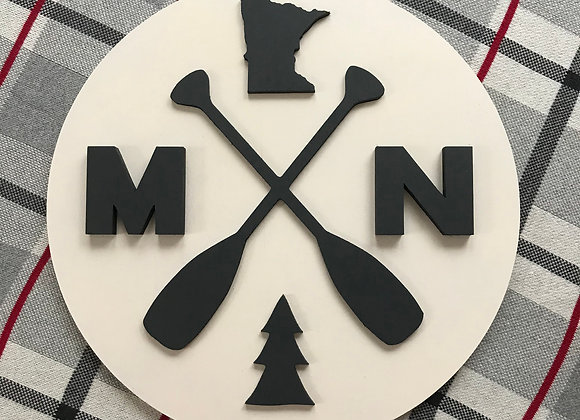 State Sign - Paddles 16""