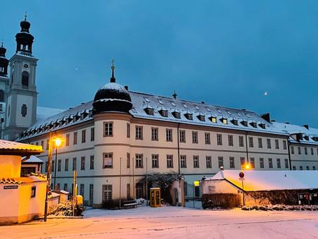 Winterzauber in Pielenhofen - das Kloster bei -14 Grad!