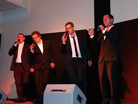 """Vokal-Comedy vom Feinsten mit """"Maenner ohne Nerven"""""""