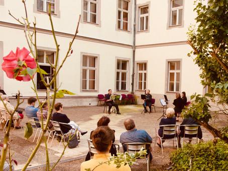 Klassik im Kloster Pielenhofen mit der Bläserphilharmonie Regensburg – endlich wieder Kultur erleben