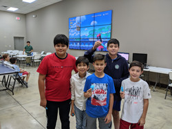Campers with Their 3D Models