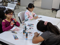 Some Campers Using 3D pens